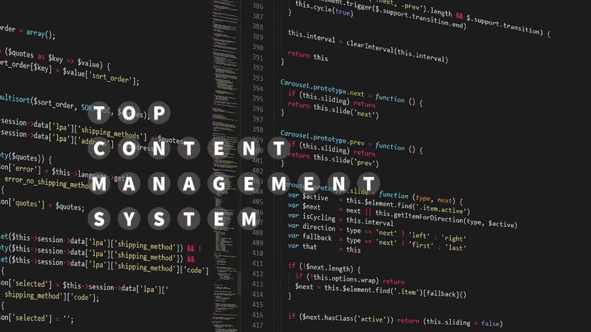 Top Content Management System